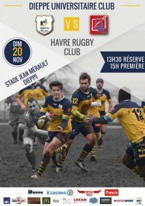 [DUC Rugby] Derby contre HRC @ Stade Jean Merault | Dieppe | Normandie | France