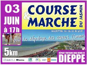 Course et marche du jasmin @ Quai Henri IV | Dieppe | Normandie | France